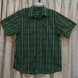 Kavu Plaid Button Front Shirt